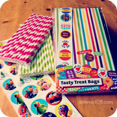 party bags e muppets