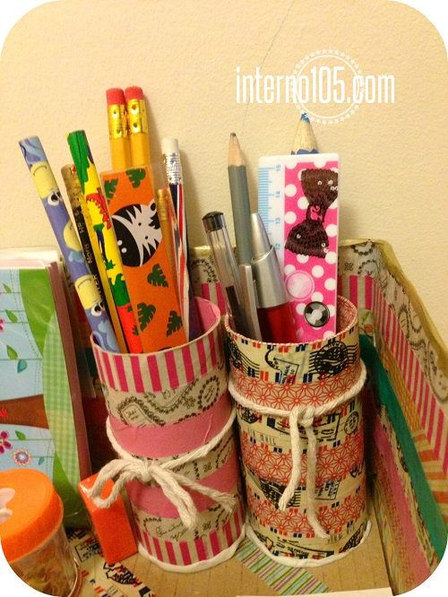 washi tape desk organizer3
