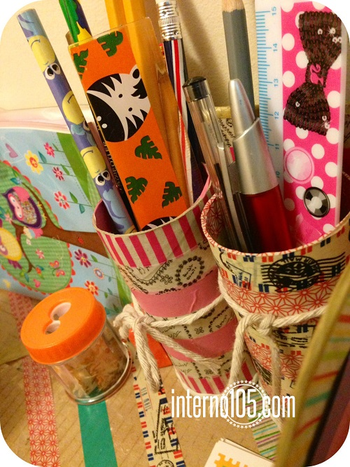 washi tape desk organizer4